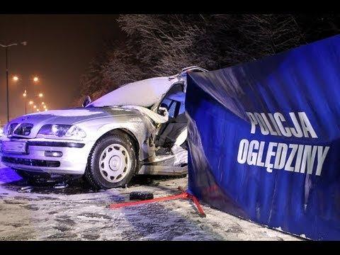 Smiertelny wypadek na drodze krajowej nr 2 pod Warszawa ( Bronislawa Czecha ) w dniu 20.02.2013