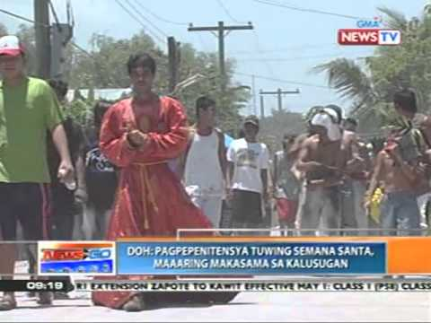 "News to Go - DOH warns Pinoys about health risks of ""penitensya"" 4/15/11"