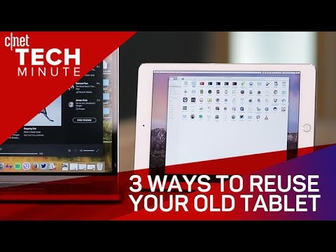 Tech Minute - 3 ways to reuse your old tablet (Tech Minute) - UCOmcA3f_RrH6b9NmcNa4tdg