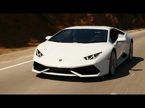 On the road: 2015 Lamborghini Huracan