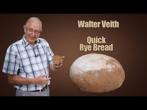 Walter Veith - Quick Rye Bread