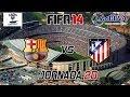 FIFA 14 PSP | Liga BBVA 2013-2014 Vuelta | Jornada 20 | FC Barcelona VS Atletico de Madrid