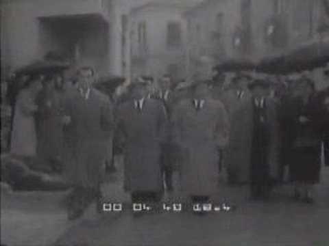 Cinegiornale su Montesano sulla Marcellana