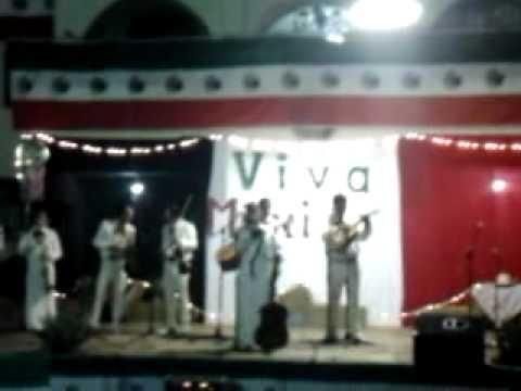 Mariachi Hermanos Cardona en Grito de Independencia Villa Guerrero Jalisco
