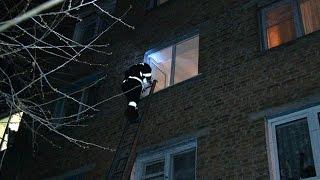 В житомирской квартире произошел пожар – хозяин выпрыгнул из окна