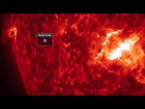 فيديو: وكالة ناسا تصور أضخم عاصفة شمسية في 2015