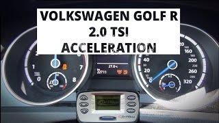 Volkswagen Golf R 2.0 TSI 300 KM - przyspieszenie 0-100 km/h