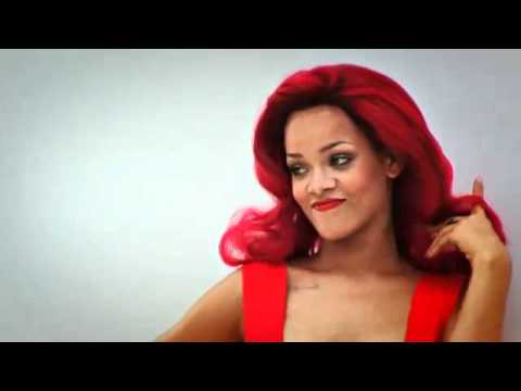 Behind The Scenes - Rihanna's 2011  Vogue Photoshoot