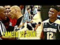 LaMelo Ball vs Zion Williamson WAS INSANE!! Lonzo, Dame Lillard, OSN & INSANE CROWD Watching!