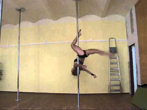 Pole Dance (advanced tricks) - Romana Zahálková