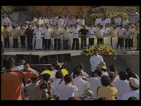 Flag Raising Ceremony in Commemoration of the 25th EDSA Anniversary Revolution