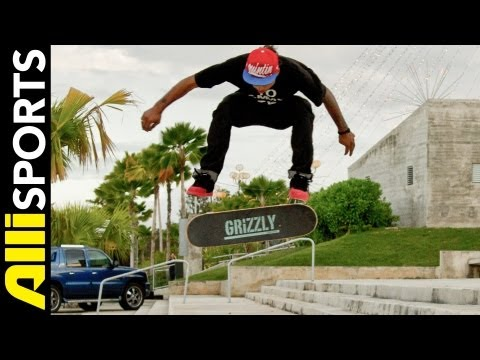 Manny Santiago Skateboard Trick Tip Varial Heelflip