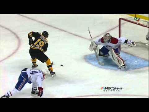 Tyler Seguin nice backhand goal 5-3 Mar 27 2013 Montreal Canadiens vs Boston Bruins NHL Hockey