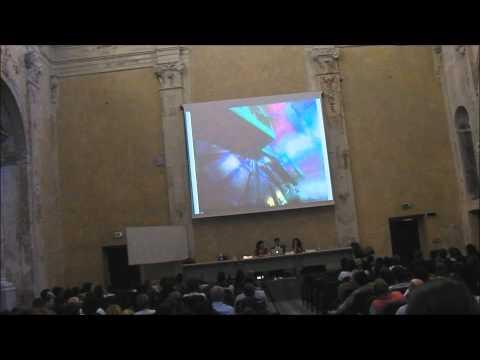 """Festival della Scienza di Genova 2010 """"Odissea nello zeptospazio"""" parte 1/4"""