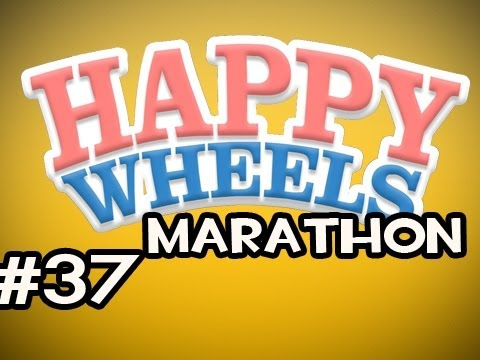 Happy Wheels MARATHON w/Nova Ep.37 - Im Poking You