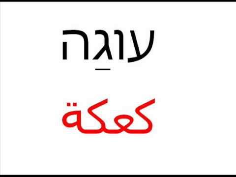 Hebrew with Dawoud lesson 6