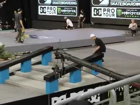 Ryan Sheckler Street League 2011 Seattle qualfiers