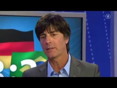Deutschland 3 - 2 Brasilien, Interview mit Joachim Löw, 10.08.2011