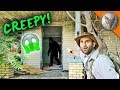 What's in this CREEPY Abandoned House?!
