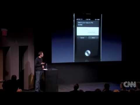 iPhone 4S  Siri Apple Keynote October 2011