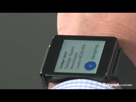 LG'S GOOGLE شاهد بالفيديو استعراض ساعة ال جي غوغل