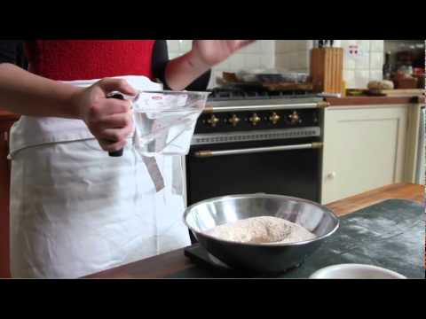 Baking a Basic Loaf of Bread- Step One