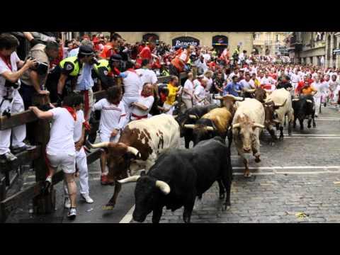 primer encierro de San Fermín en fotos...