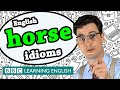Horse Idioms - BBC Learning English (The Teacher)