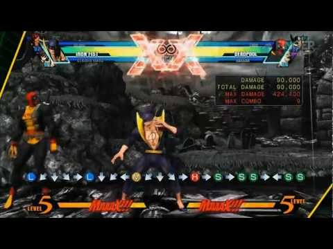 Ultimate Marvel Vs Capcom 3 Iron Fist Guide f/ FC JAGO FingerCramp Rehab