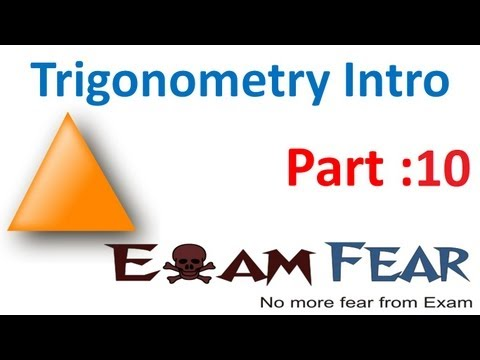 Maths Introduction to Trigonometry part 10 (Ratio complementary angle) CBSE class 10 Mathematics X