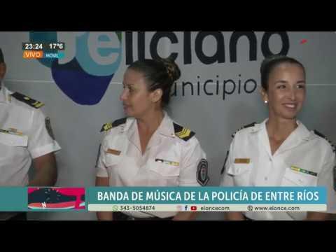 La Banda de Música de la Policía hizo bailar a todos en la Fiesta del Ternero