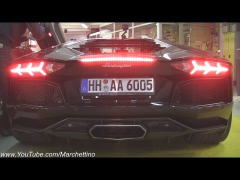 Lamborghini Aventador INSANE Sounds!