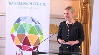 Live aus dem Bundeskanzleramt: Festakt zur Eröffnung des Ban Ki moon Centre in Wien am 3.1.2018