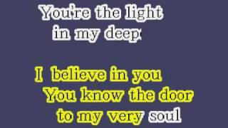 How Deep Is Your Love - karaoke