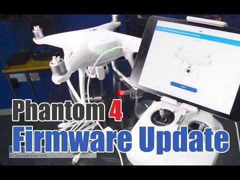 DJI Phantom 4, How to Firmware Update / Upgrade