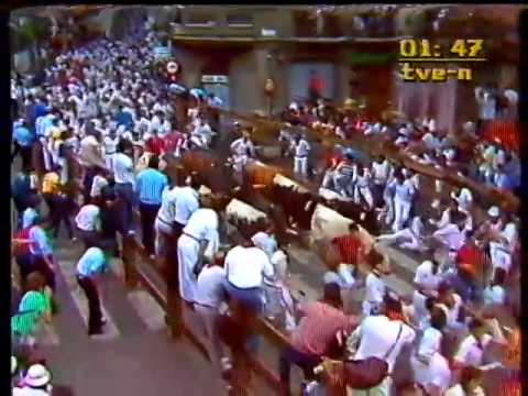 Encierro de San Fermín   9 de julio de 1985 480p