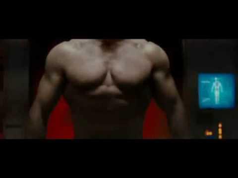 Arnold Schwarzenegger in Terminator: Salvation (RUS) poster