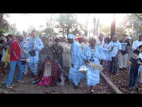 Festival de Egungum-Ile Ifa Orixás-Pai Valdir de Oya -Alto da lapa-SP