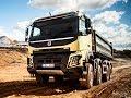 Опыт эксплуатации карьерных самосвалов  Volvo Trucks на предприятии «Угольная компания Бурятии»