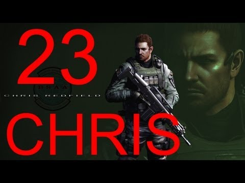 Resident Evil 6 walkthrough - Final Boss Chris Walkthrough HD part 23 gameplay RE6