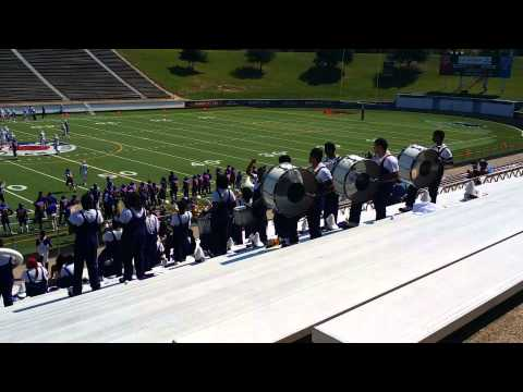 Texas college marching band 2014