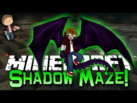 Minecraft: Shadow Maze! NEW 1.8 Mini-Game Challenge PVP w/The Pack