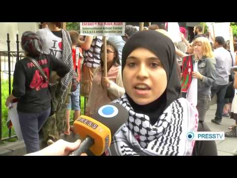 (Palestine) activists disrupt NY council press conference  7/15/14