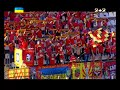 Болельщики исполнили гимн Украины вместо выключившейся записи