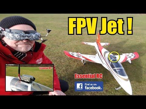 First Person View (FPV) RC JET RIDE (RunCam2 FPV docking station): ESSENTIAL RC FLIGHT TEST [4K] - UChL7uuTTz_qcgDmeVg-dxiQ