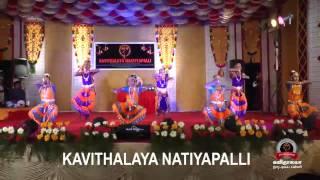 kavithaalaya naatiyapalli 2014 salangaipoojai and arangetram function.