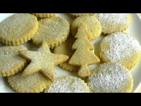 Christmas Food Shortbread Biscuits How to make Recipe