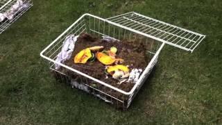 Como hacer una composta casera...