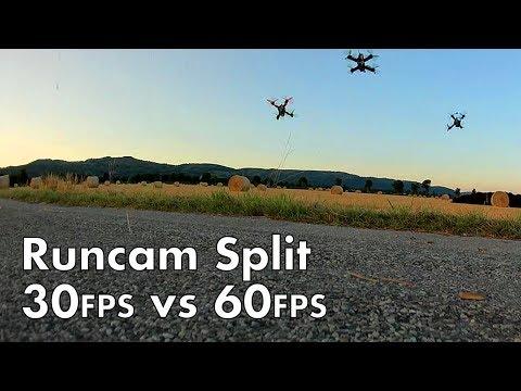 391 - Runcam Split 30FPS versus 60FPS - UC7dLZs5jMR1DLFT8V5fWnsQ