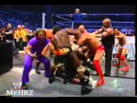 Batista & John Sina & Bobby lashley & big show & Best Fighter in clip WWE.flv